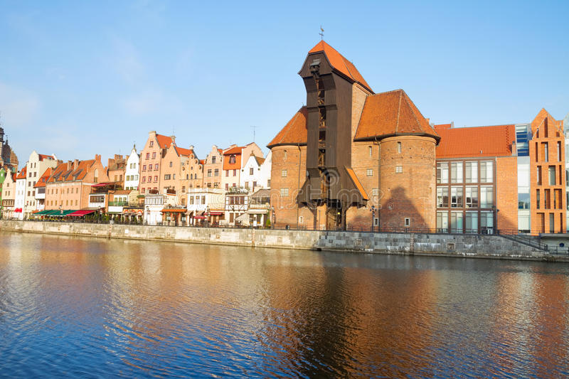 Download Zuraw And Old Waterfront, Gdansk Royalty Free Stock Photos - Image: 35785898