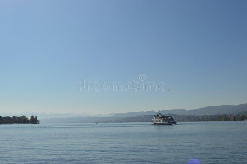 Zurich湖 免版税库存图片