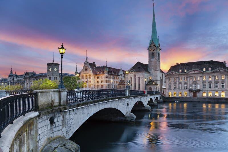 Zurich. image libre de droits