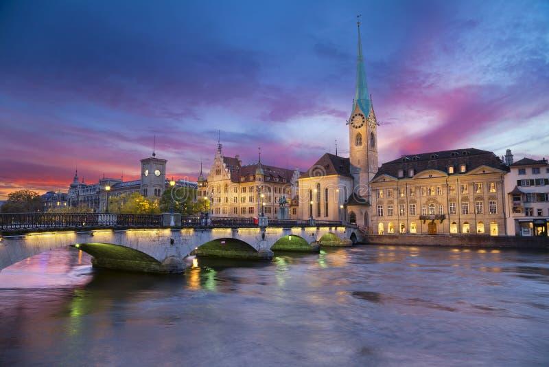 Zurich. photographie stock libre de droits