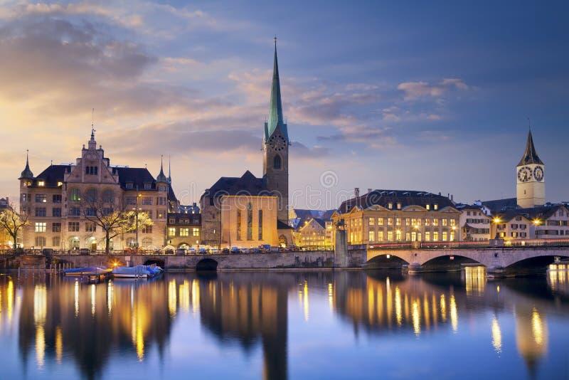 Zurich. arkivbilder