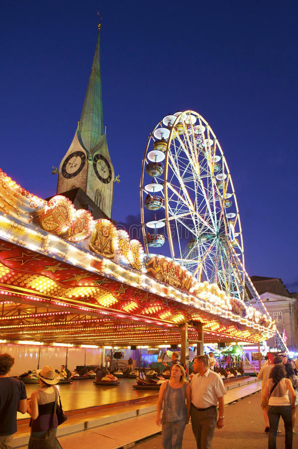 Zurich City Festival royalty free stock images