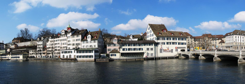 Download Zurich du centre image stock. Image du construction, tuile - 8652413