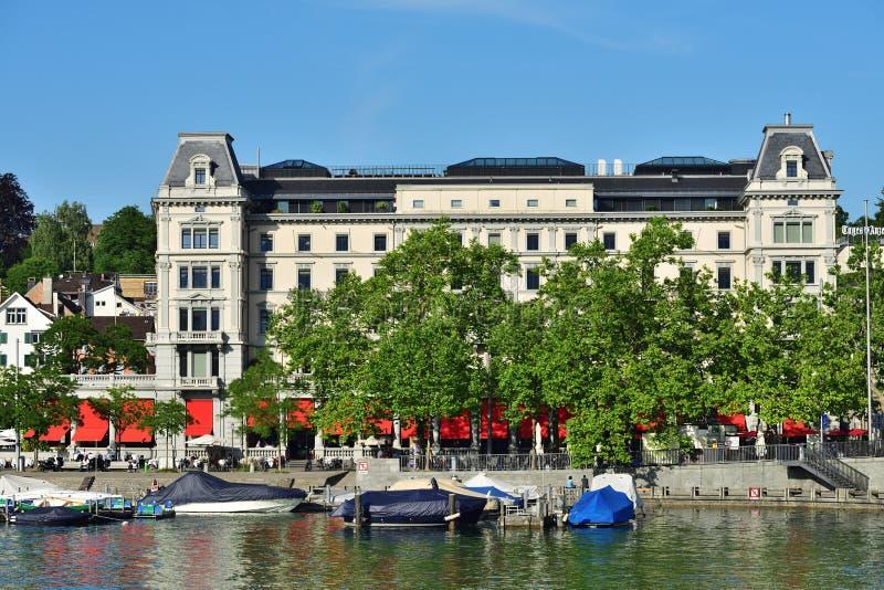 Zurich dziejowy centre, Szwajcaria obrazy stock