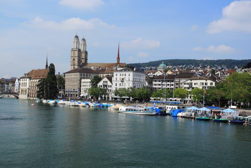 Download Zurich editorial image. Image of spire, ship, limmat - 37241485