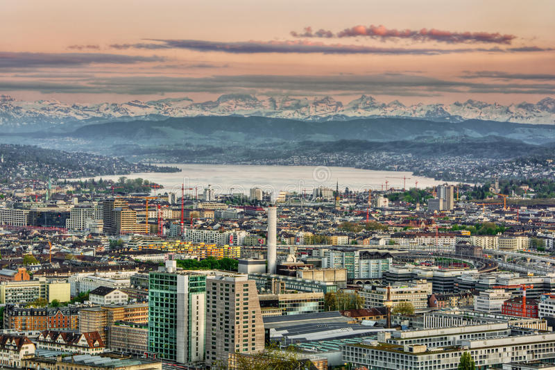 Zurich HDR images stock