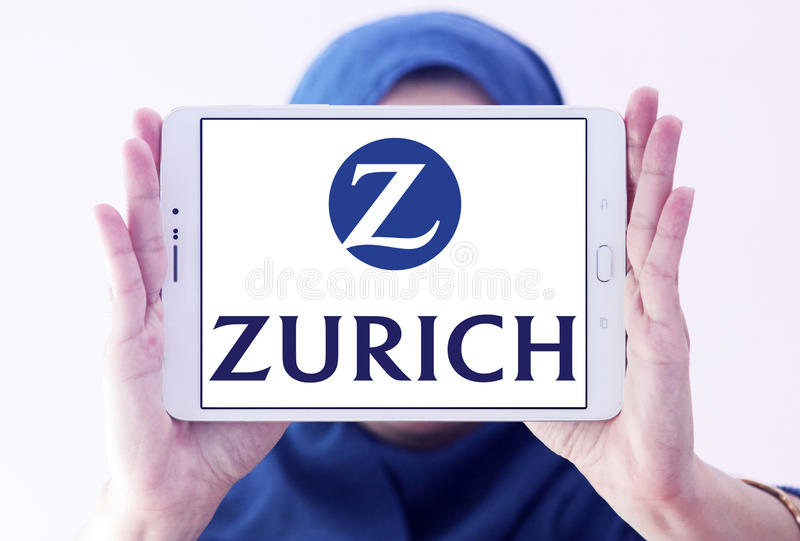 Zurich insurance logo editorial photo. Image of emblem ...