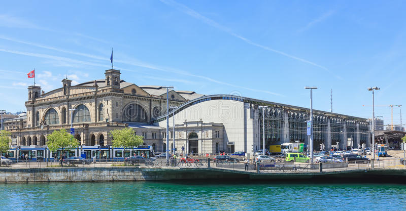 Download Zurich Main Railway Station Editorial Photography - Image: 42180682