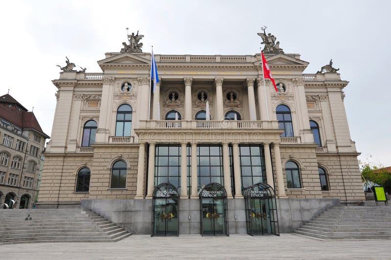 Zurich opera w Szwajcaria obraz royalty free