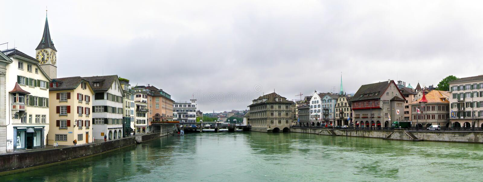 Download Zurich Panorama stock photo. Image of beautiful, center - 25602030