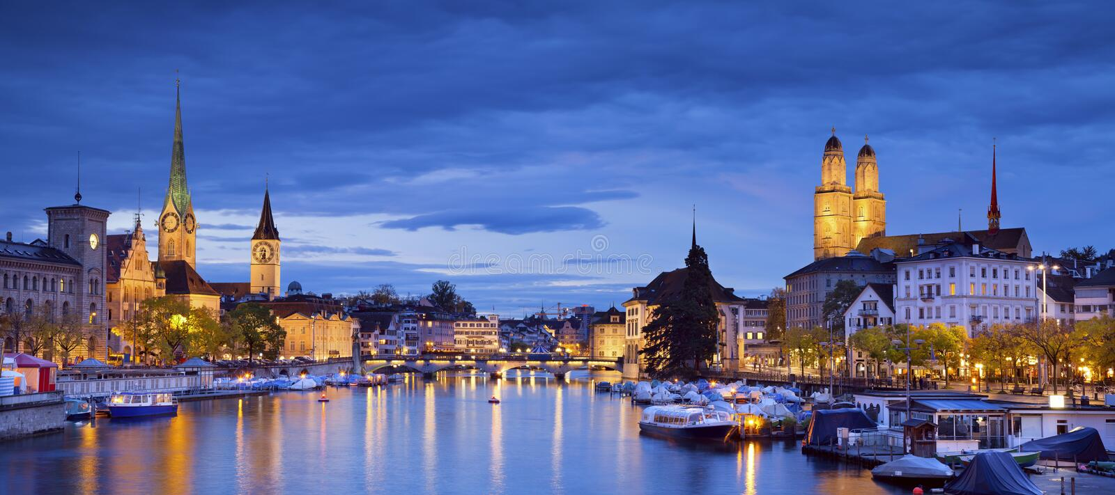 Download Zurich. stock image. Image of district, switzerland, cities - 34873349