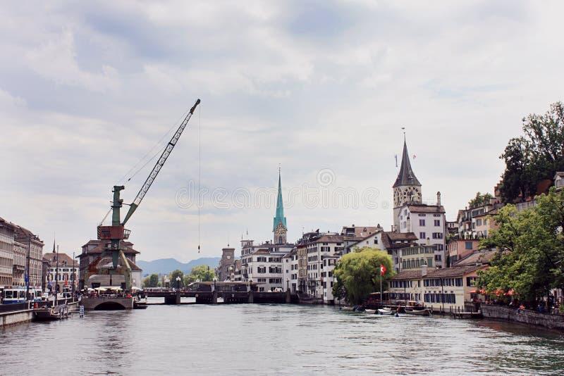 Zurich stary miasteczko obrazy stock