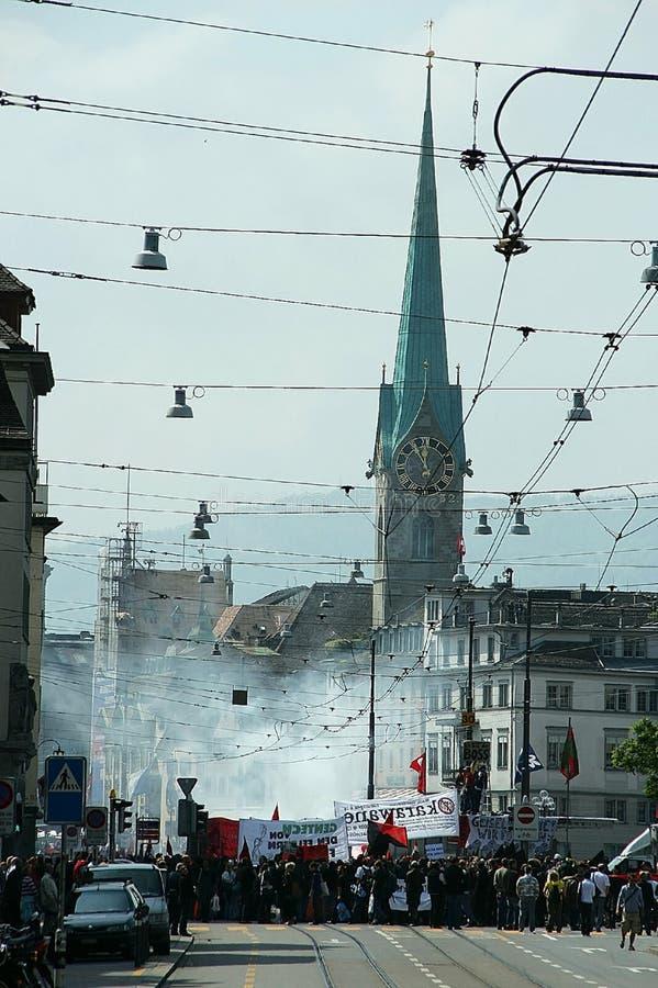 Zurich, Suiza - 1 de mayo foto de archivo