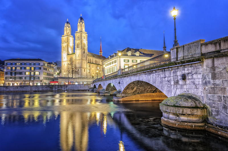 Zurich, Switzerland. royalty free stock photography