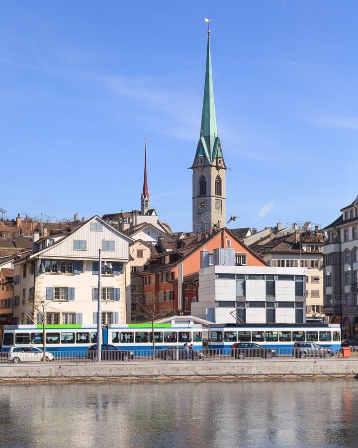 Zurich tornet för centralt arkiv arkivbild