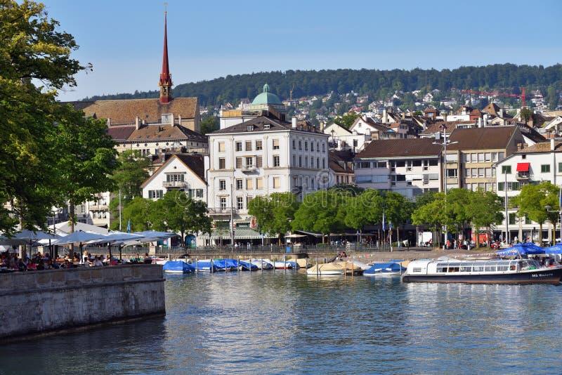 Zurich w Szwajcaria fotografia royalty free