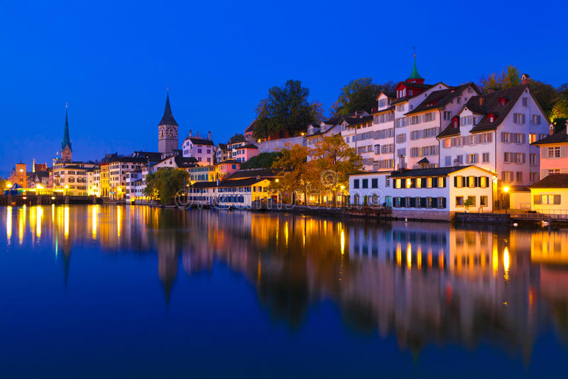 Zurigo, Svizzera immagine stock libera da diritti