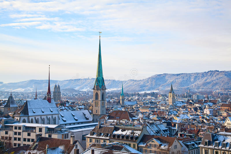 Zurique imagem de stock royalty free