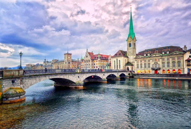 Zurique, Switzerland imagens de stock