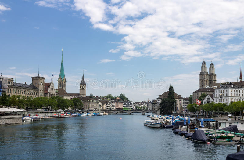 Zurique Switzerland fotos de stock