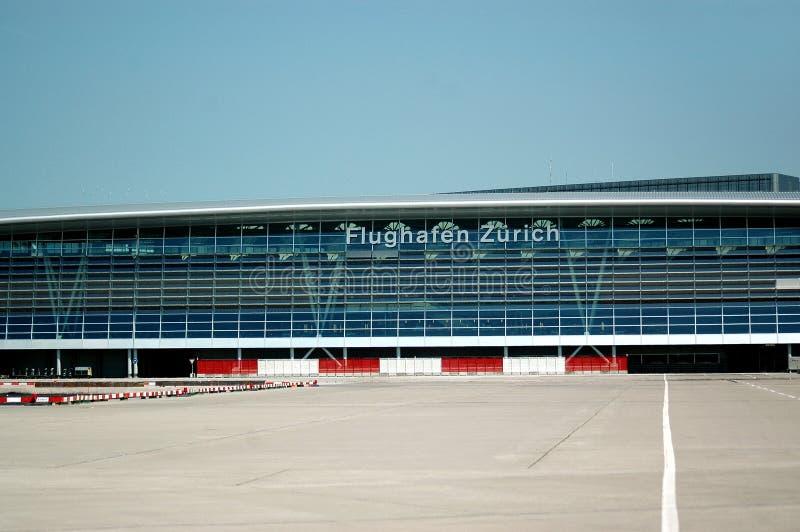 Zurychu portów lotniczych zdjęcie royalty free