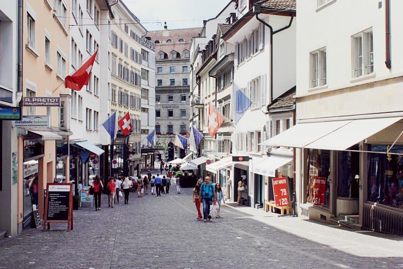 Zurychu szwajcarii zdjęcie stock