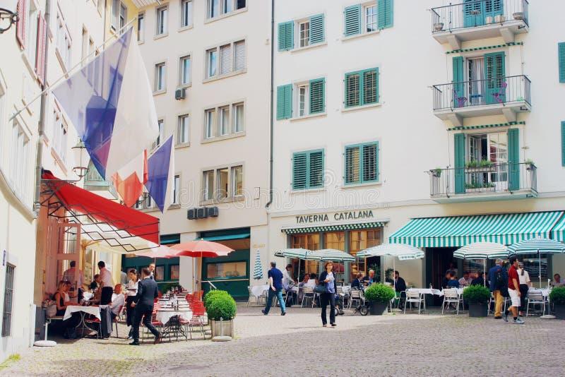 Zurychu szwajcarii fotografia stock