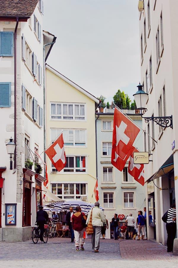 Zurychu szwajcarii zdjęcia stock