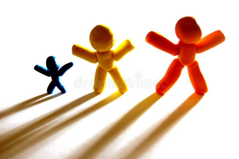 Zusammen bleiben wir! lizenzfreies stockbild