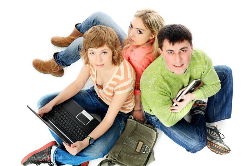 Zusammen erlernen lizenzfreies stockbild
