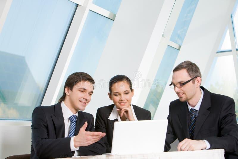 Zusammenarbeiten lizenzfreies stockfoto