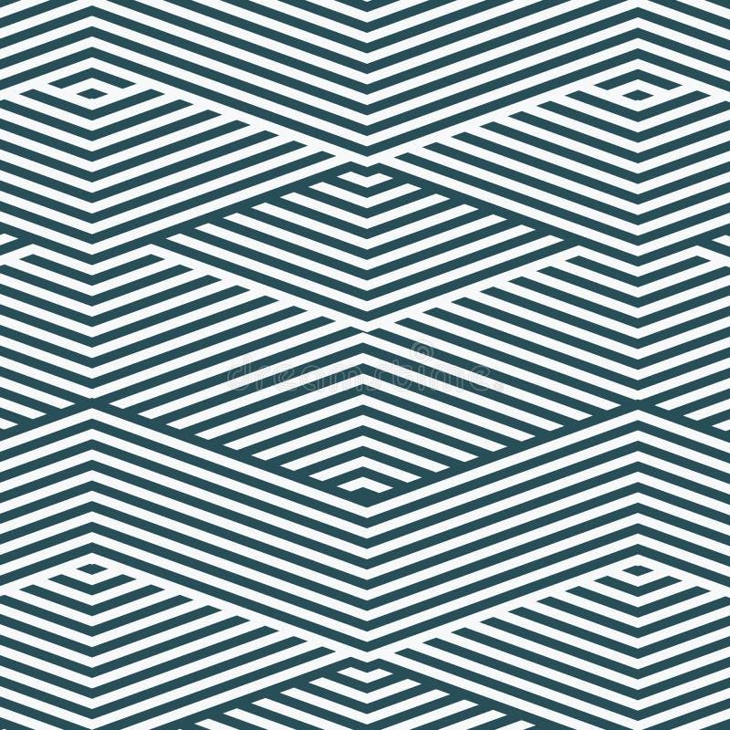 Zusammenfassung abgestreifter geometrischer Hintergrund Auch im corel abgehobenen Betrag stock abbildung