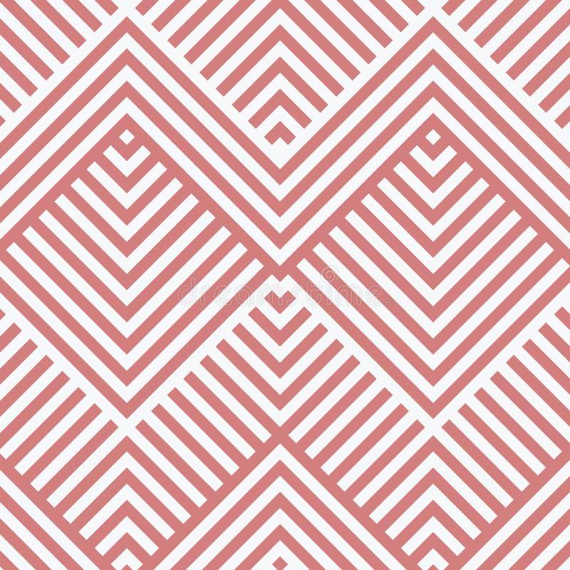 Zusammenfassung abgestreifter geometrischer Hintergrund, Vektorillustration lizenzfreie abbildung