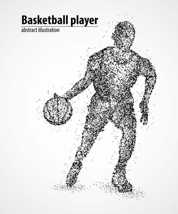 Zusammenfassung, Basketball, Athlet vektor abbildung