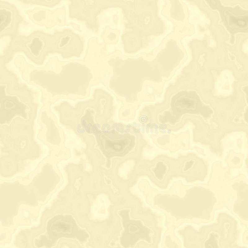 Zusammenfassung beschmutzter grafischer unordentlicher beige quadratischer Hintergrund stock abbildung