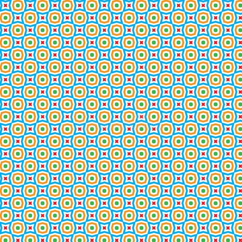 Zusammenfassung blüht Art Background Pattern Texture vektor abbildung