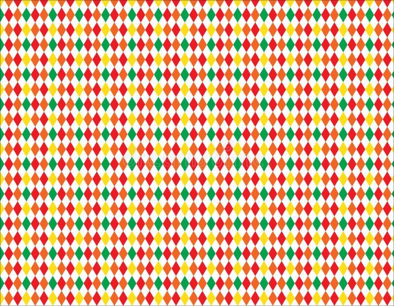 Zusammenfassung, Druckquadratmuster des geometrischen Designs des Hintergrundes stock abbildung