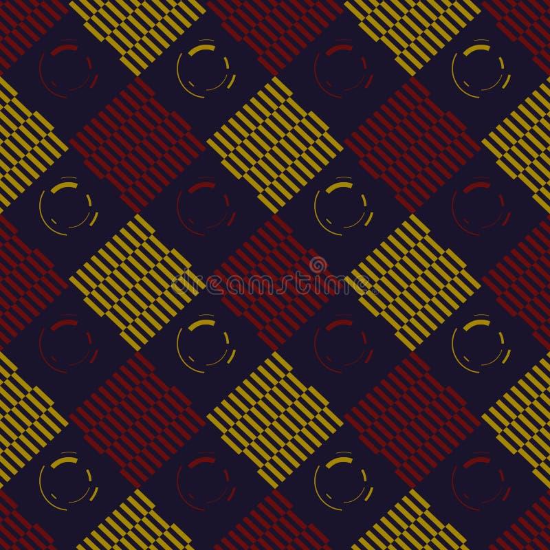 Zusammenfassung farbige Quadrate lizenzfreie stockfotos