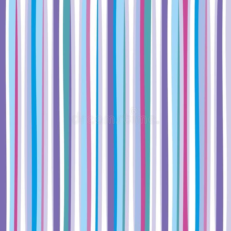 Zusammenfassung farbiger abgestreifter Hintergrund Auch im corel abgehobenen Betrag stock abbildung