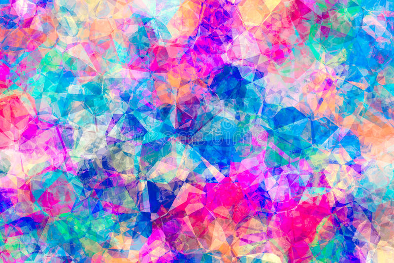 Zusammenfassung farbiger Juwel-Hintergrund lizenzfreie abbildung