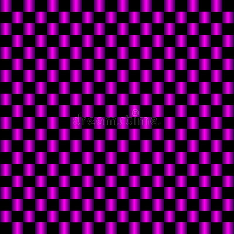 Zusammenfassung farbiger quadratischer Hintergrund mit schwarzer und lila Steigung lizenzfreie abbildung