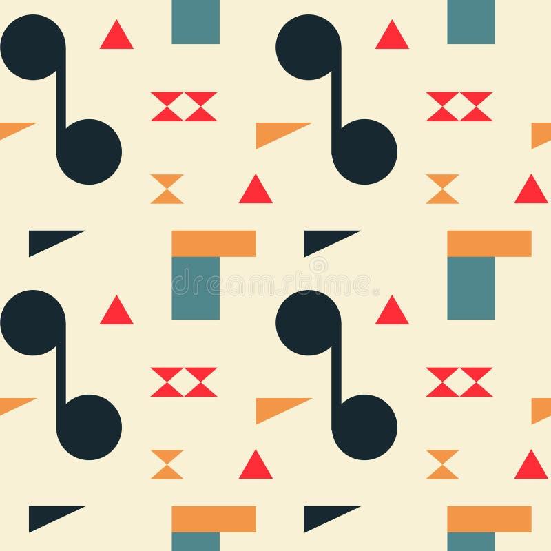Download Zusammenfassung Formt Helles Nahtloses Muster Vektor Abbildung - Illustration von fashion, plakat: 106803861