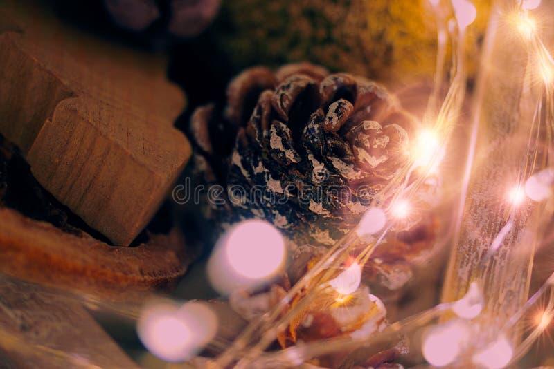 Zusammenfassung funkelte Weihnachtshintergrund lizenzfreie stockfotos