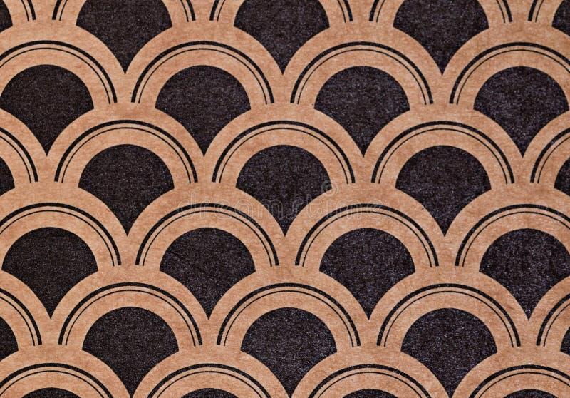 Zusammenfassung stuft Art- Deconahtlose Musterpappe ein stockfotografie
