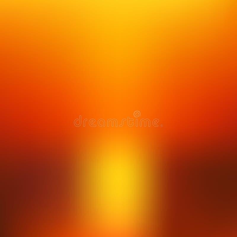 Zusammenfassung unscharfer gebrannter Hintergrund Vektor vektor abbildung