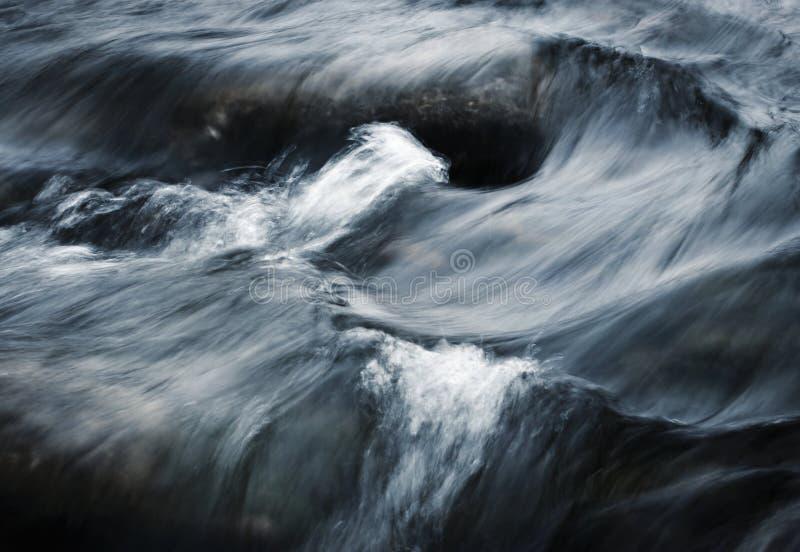 Zusammenfassung unscharfes Schmutzwasser stockbild