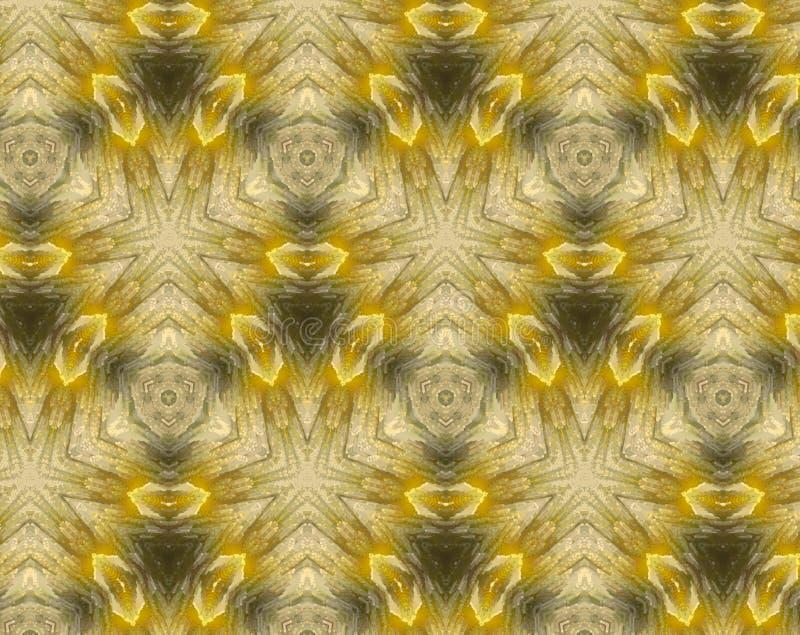 Zusammenfassung verdrängte Illustration des Musters 3D stock abbildung