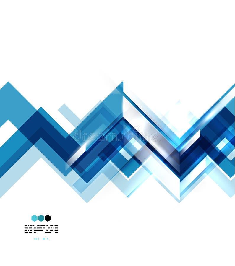 Zusammenfassung zeichnet geometrischen Hintergrund vektor abbildung