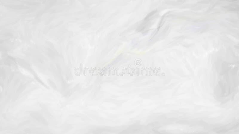 Zusammenfassungs-Ebenen-weißer gemalter Hintergrund stock abbildung
