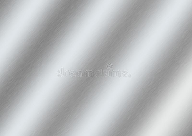Zusammenfassungs-gl?nzende geb?rstete silberne Oberfl?che f?r Hintergrund stockfotos